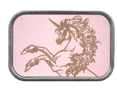 Pink Wood Unicorn