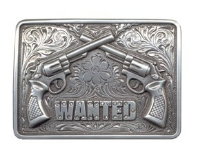 Crossed Guns Buckle, Wanted