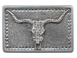 Bling Longhorn buckle