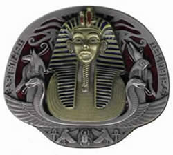 King Tut buckle