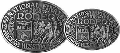 2018 Hesston buckles Adult and Youth Large and Small