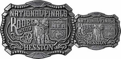2019 Large and small Hesston Buckle