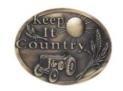 Keep it Country buckle