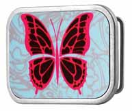 302166 Butterfly mosaic buckle