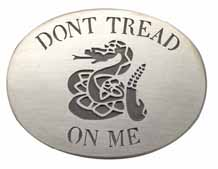 CT-Tread Dont treat on me buckle, hand-crafted