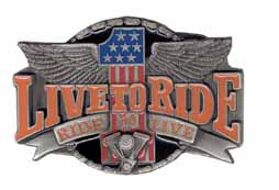 X7E Live to Ride 1 buckle