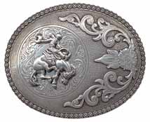 3706408 Bucking Bronc silver buckle