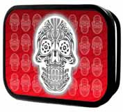 319096 Skull Candy Red buckle