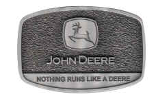 JD605 John Deere logo all pewter.jpg (170061 bytes)
