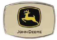 JDM603 Tan John Deere buckle