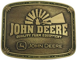John Deere Brass with Windmill