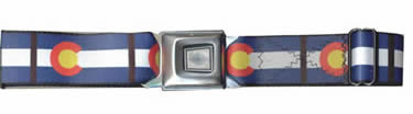 Colorado Seatbelt Buckle