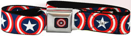 Captain America Buckle belt