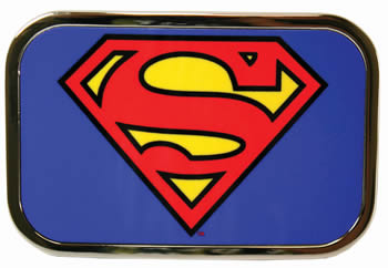 Superman Full Color Glossy Rectangular buckle