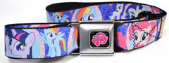 My Little Pony Seatbelt buckle