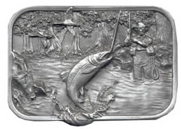 Fishing Buckle, trout