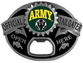 Army Tailgater bottle opener buckle