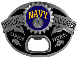 Navy Tailgater Buckle