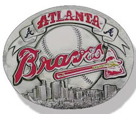 Atlanta Braves buckle
