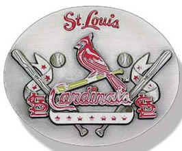 St Louis Cardinals buckle