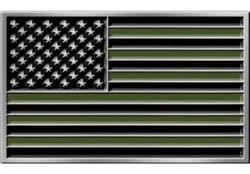Green-Black-US-Flag