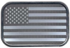 silver-Black-US-Flag