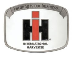 International Tractor buckles