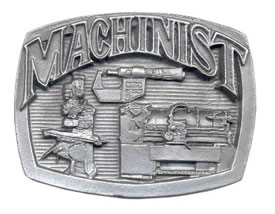 1710 Machinist buckle