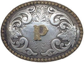 P Initial buckle