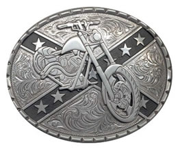 Rebel Motorcycle buckle