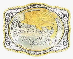 Gold/Silver Bass Buckle