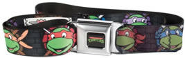 Teenage Mutant Ninja Turtles Grey Seatbelt belt
