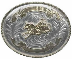GS837 Bullrider buckle