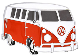 VW Bus Red Color