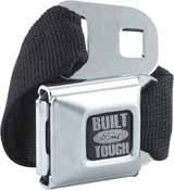 902076 Built Ford tough seatbelt buckle belt