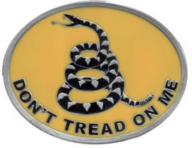 Dont Tread on Me Buckle
