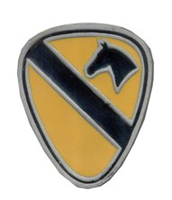 1st Cavalry buckle